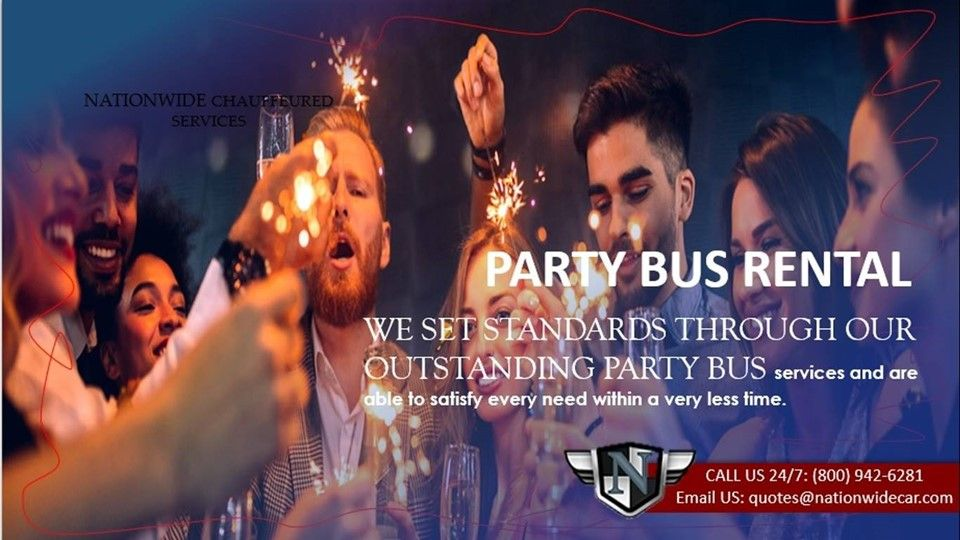 Nationwidecar has shared a news post Party Bus Rental