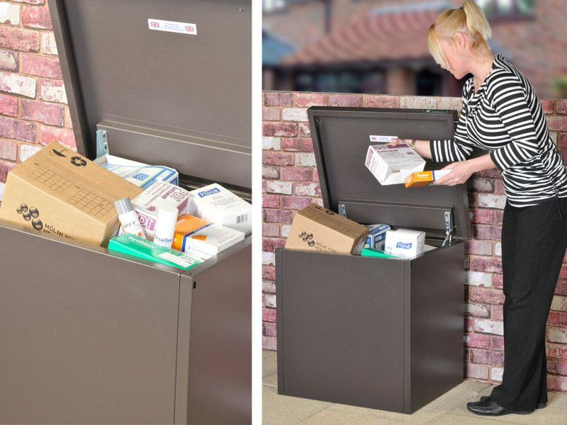 Storage box delivery