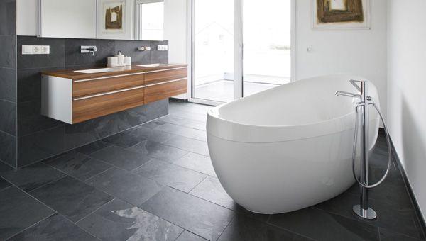 Welke kleur tegels badkamer leisteen imitatie - Badkamer | Pinterest ...