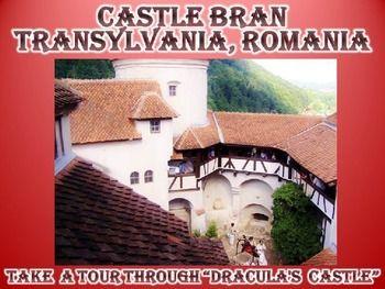 Dracula Virtual Field Trip Castle Bran Transylvania Romania