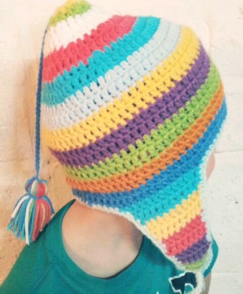 Gorro coya multicolor  ba37f959bb6