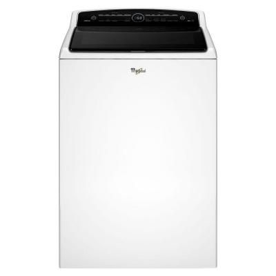 Whirlpool Cabrio 5 3 cu  ft  Top Load Washer in White