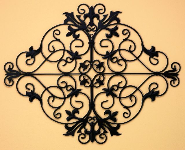 17 Best 1000 images about Wrought Iron Wall Hanging on Pinterest