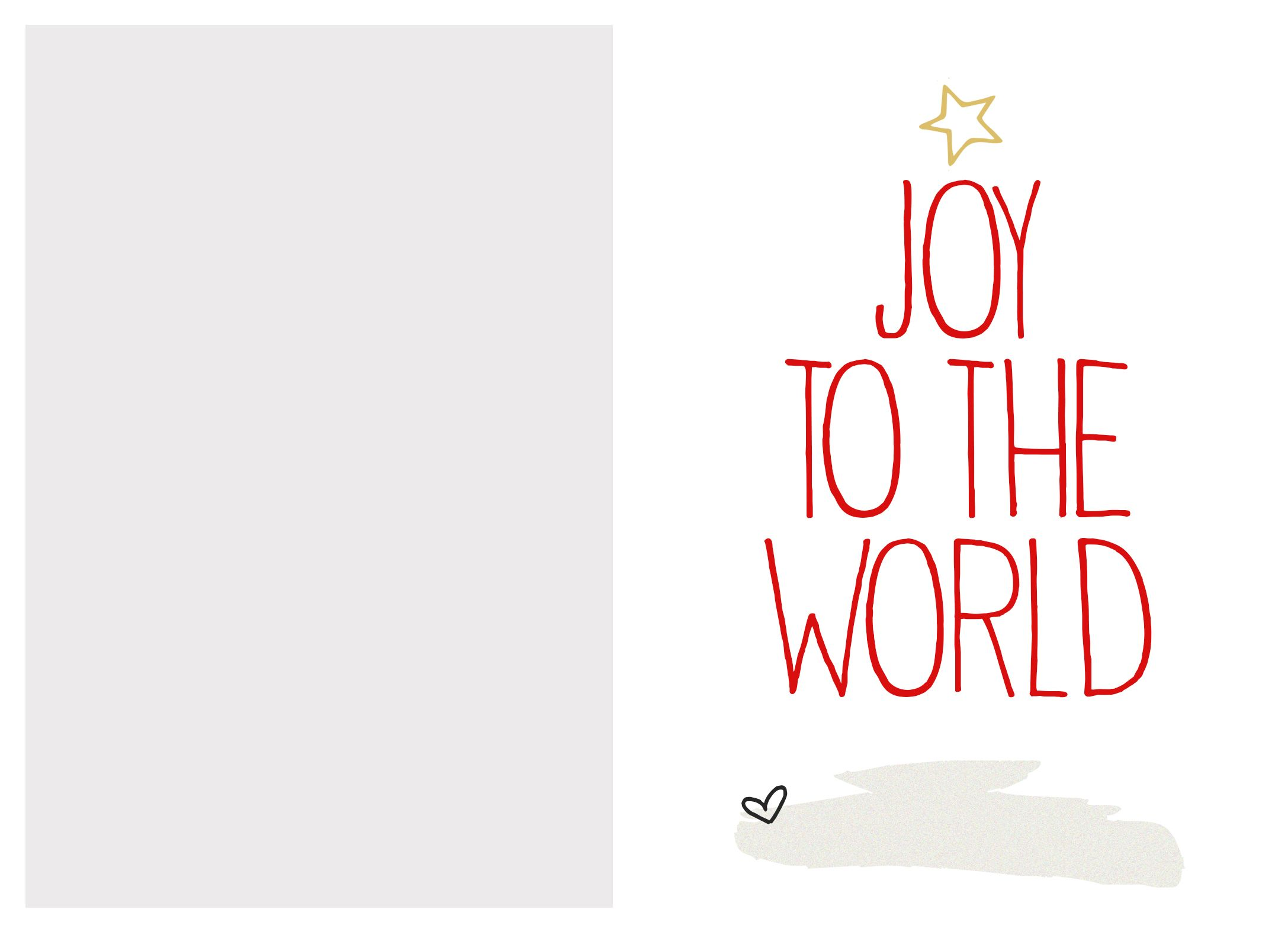 6 Best Images Of Free Printable Christmas Card Templates