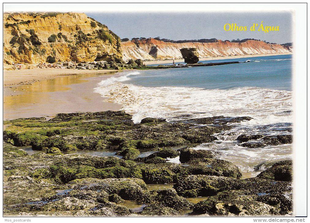Portugal Postcard Olhos D Agua Falesia The Algarve Lc2419 Faro Agua Olhos Fotos