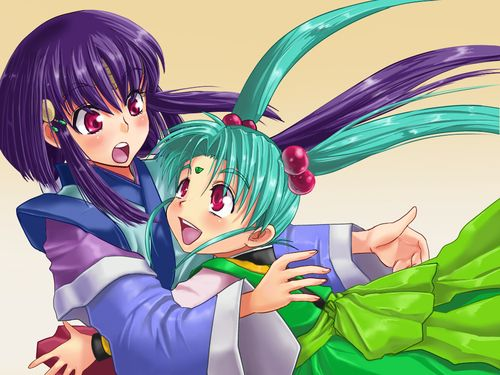 Image result for Ayeka and Sasami pinterest