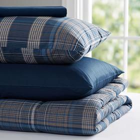 Heritage Plaid Value Comforter Set #PBteen