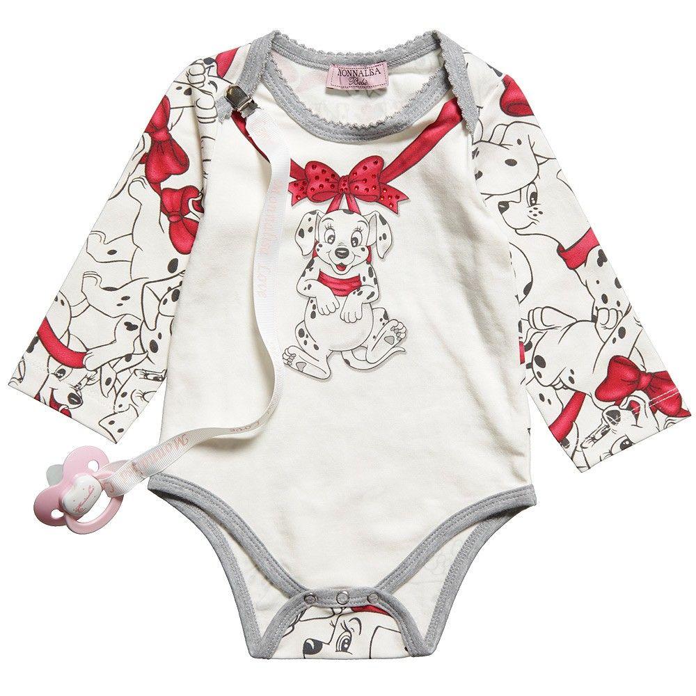 101 Dalmatians Bodyvest Dummy Clip Set Childrensalon Baby Girl Clothes Baby Fashion Baby Disney