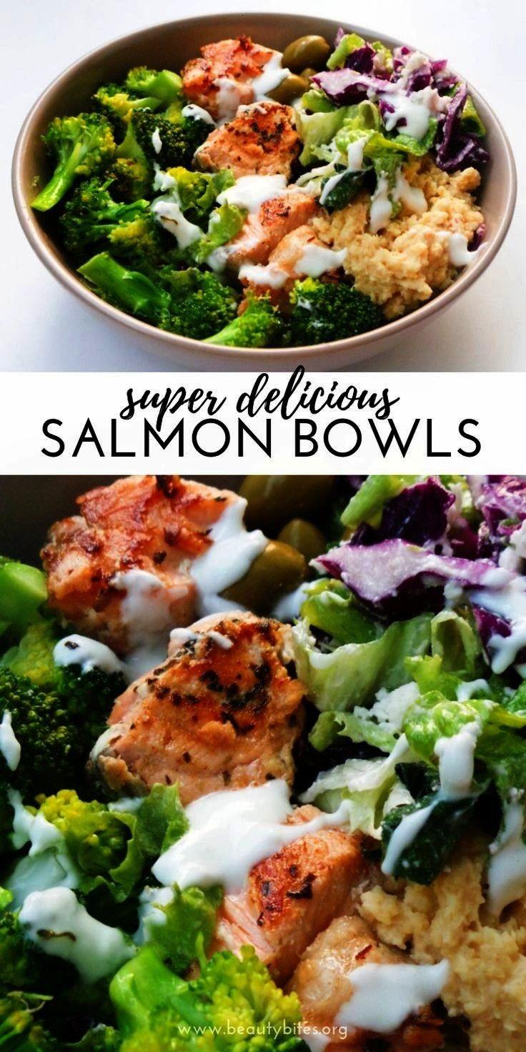Bowl - a healthy salmon recipe that is easy, full of flavor... -Mediterranean Salmon Bowl - a healt