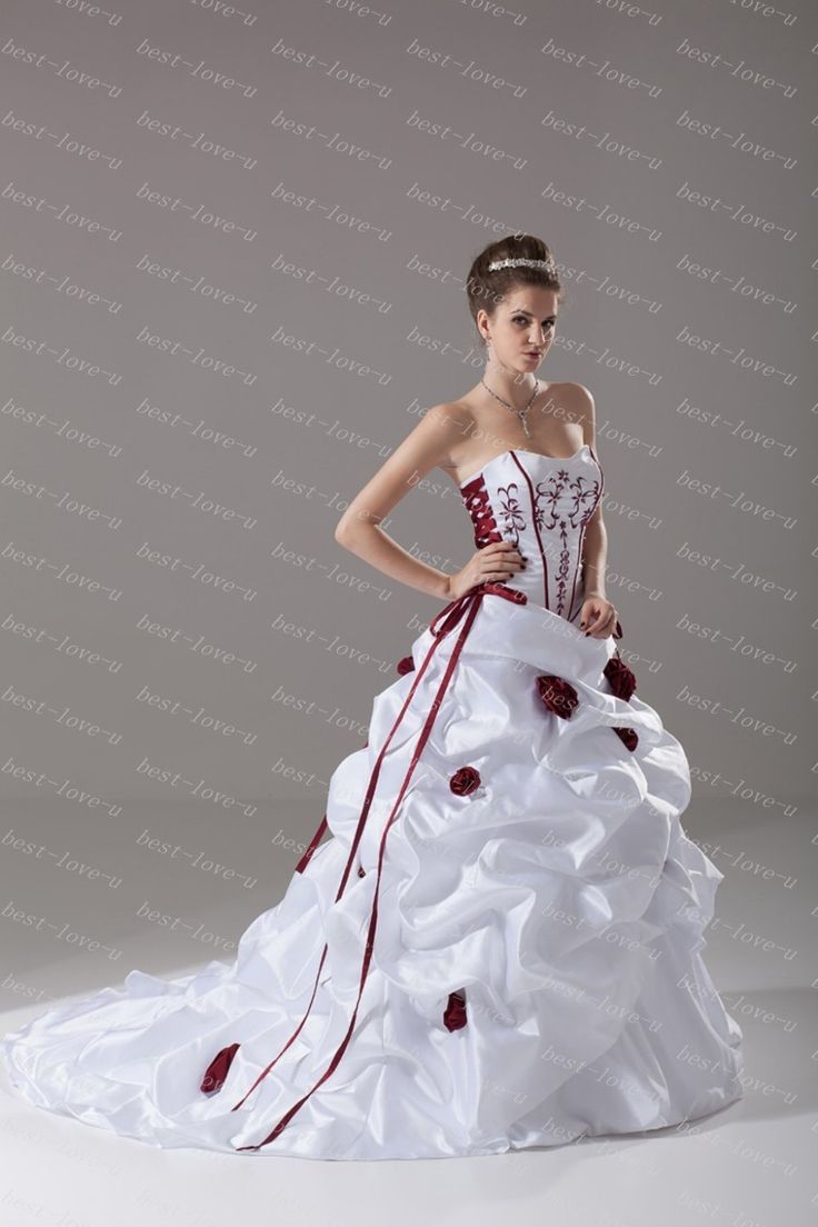 2019 Red & White Wedding Dress - Dresses for Guest at Wedding Check ...