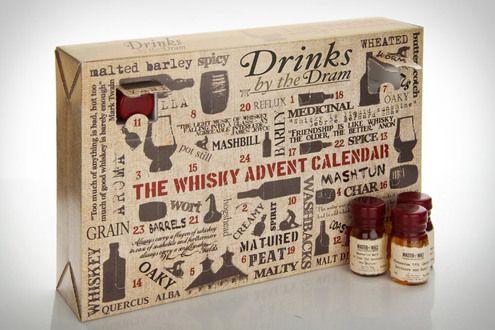 The Whiskey Advent Calendar Man Made Diy Crafts For Men Keywords Taste Gift Alcohol