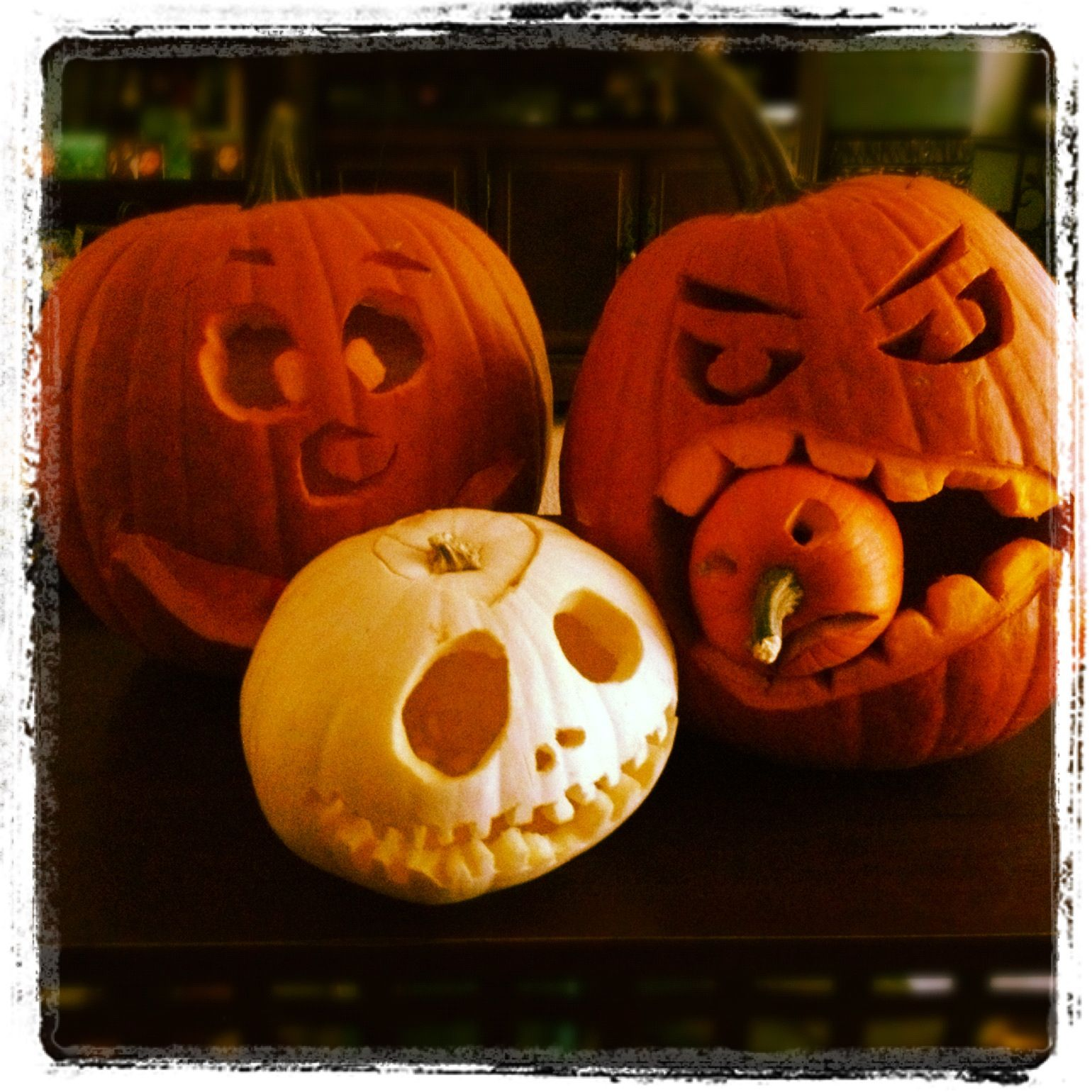 Cute Pumpkin Carving Ideas Halloween Pinterest