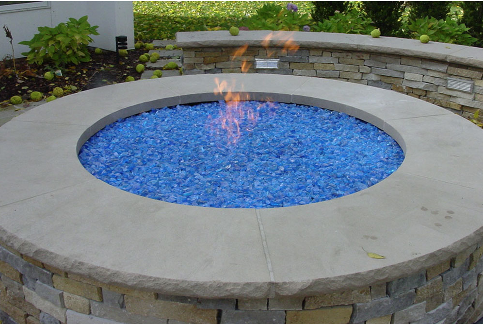 Round Fire Pit Glass Rock - Round Fire Pit Glass Rock Fire Pit For Your Home Pinterest