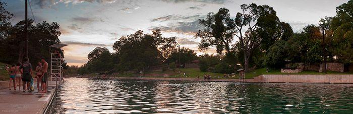 Barton Springs Pool in Austin, TX - https://www.realtyaustin.com/austin-swimming-holes.php#3