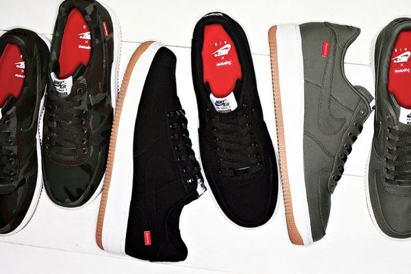 Air Force 1 Low Supreme chaussure Nike de basket (avec