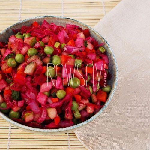 Рецепт винегрета для диеты