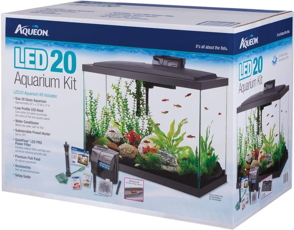 Aqueon Background Led Light Kit 20 Gallon Aquarium Kit Led Light Kits Aquarium
