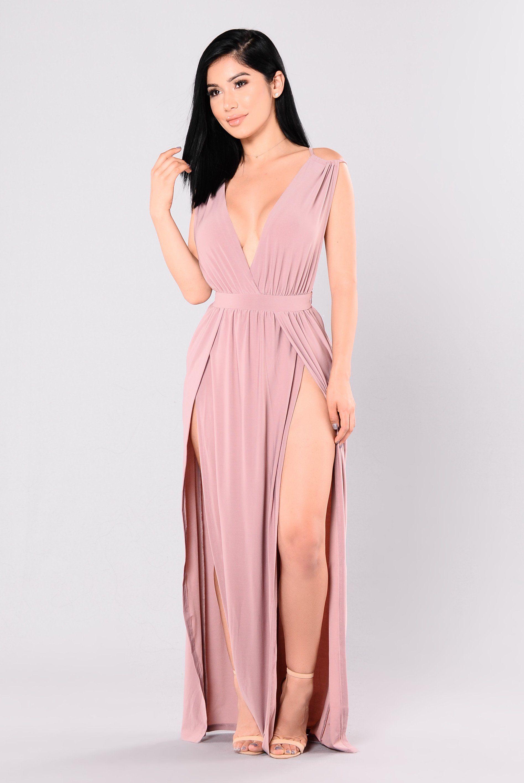 Magic Dress - Mauve | Elegancia, Tacones y Curvas