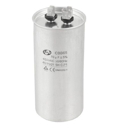 Amico 450v Ac 50 60hz 70uf 5 Round Electric Motor Run Capacitor Cbb65 By Amico 15 04 1 4 Push In Pin Connector Car Electronics Car Cleaning Electric Motor