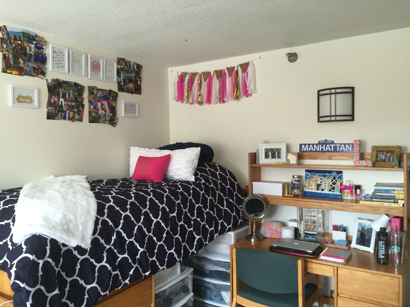 Dorm Room At Loyola University Chicago