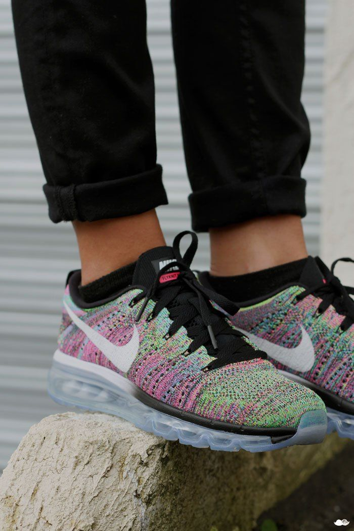 Nike Flyknit Air Max 2015 Multicolor