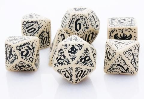 Go stealth with Pathfinder Dice: Council of Thieves. This officially licensed RPG dice set is...