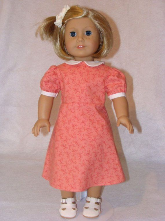historical dolls | Historical Doll Clothes - Great Depression Doll Dress #historicaldollclothes