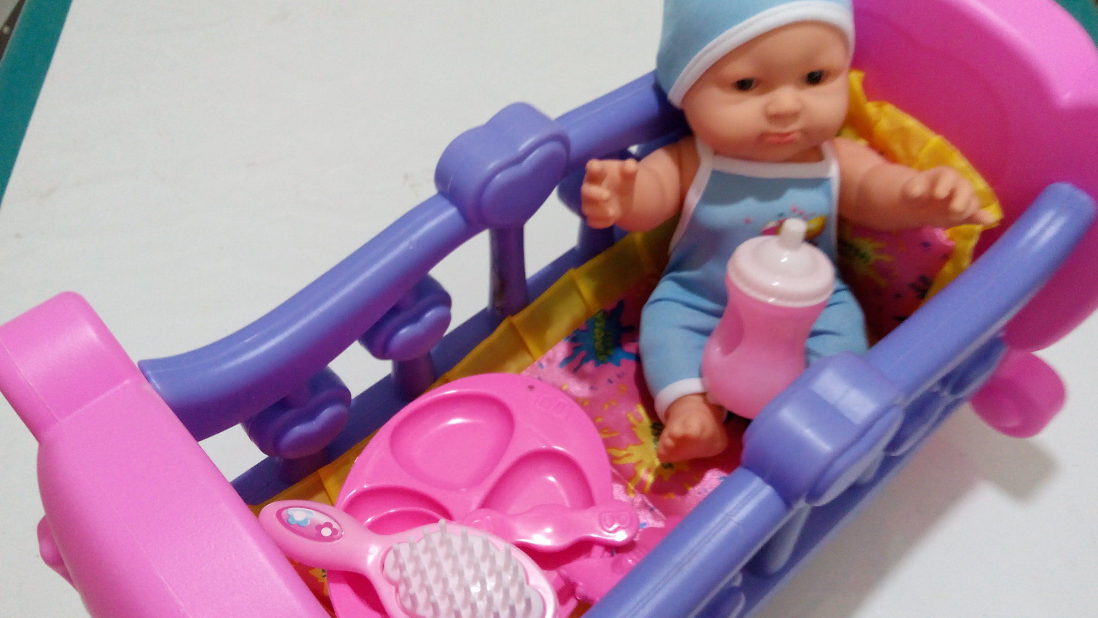 لعبة الطفل البيبي و السرير العاب الدمى العاب بنات و أولاد العاب عبير Best Kids Toys Baby Car Seats Kids Toys