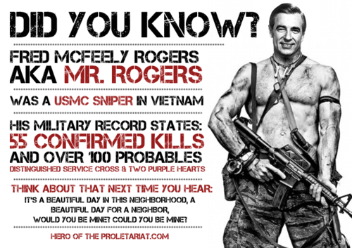 Mr Rogers Wwii Sniper Google Search Mr Rogers Military Records Sniper