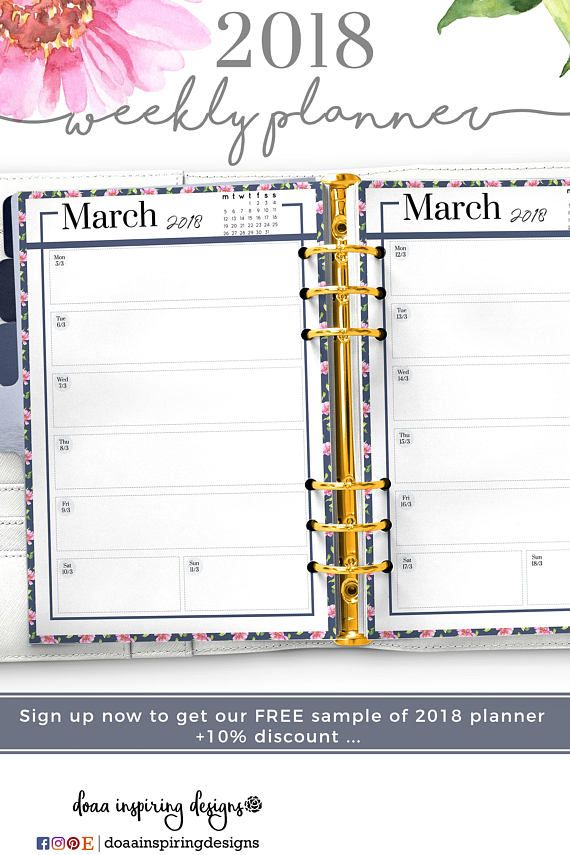 Sample Agenda Planner Student Planner Printable Dont Forget To Read