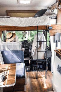 Über 50 Wohnmobile, die ein kleines Zuhause ersetzen könnten - VanLife