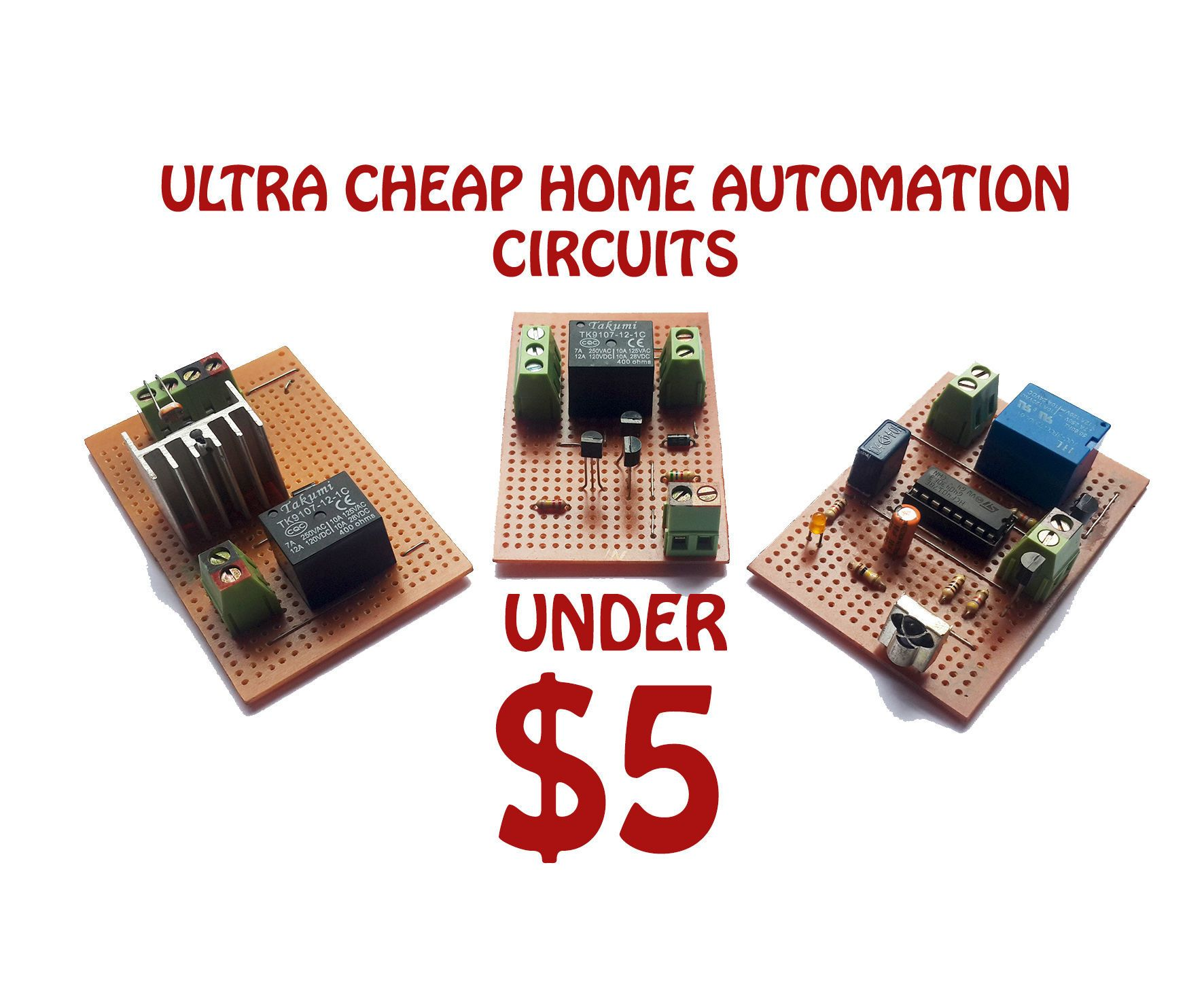 ULTRA CHEEP HOME AUTOMATION UNDER $5 | Remote, Finger and Fans