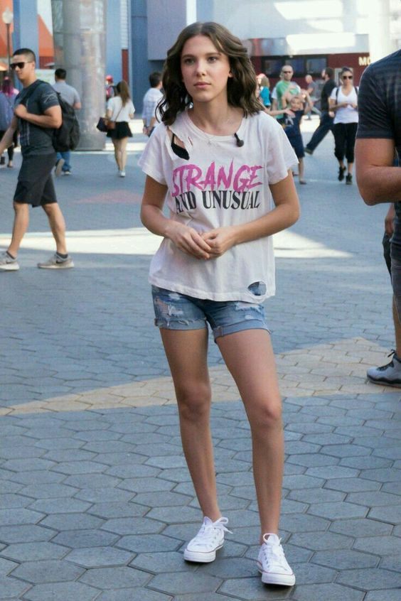 O estilo de Millie Bobby Brown - Guita Moda