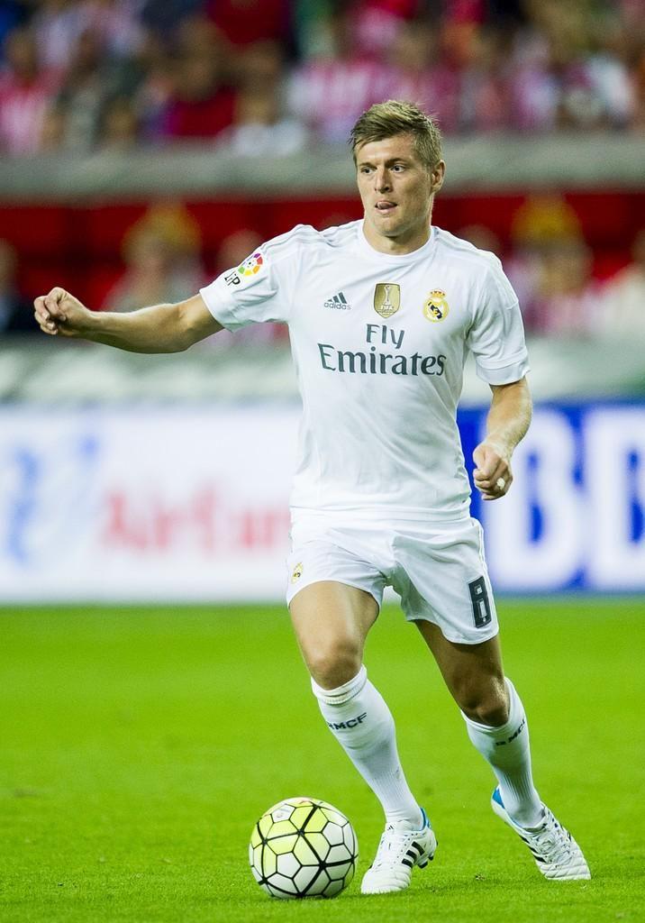 Real Madrid Toni Kroos Trikot - Ulalak6