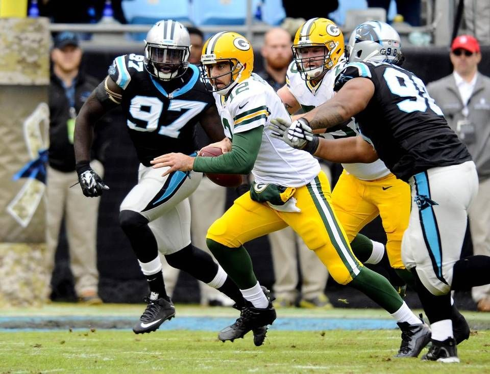 Carolina Panthers Survive Move To 8 0 With 37 29 Victory Over Packers In 2020 Carolina Panthers Panthers Win Panthers