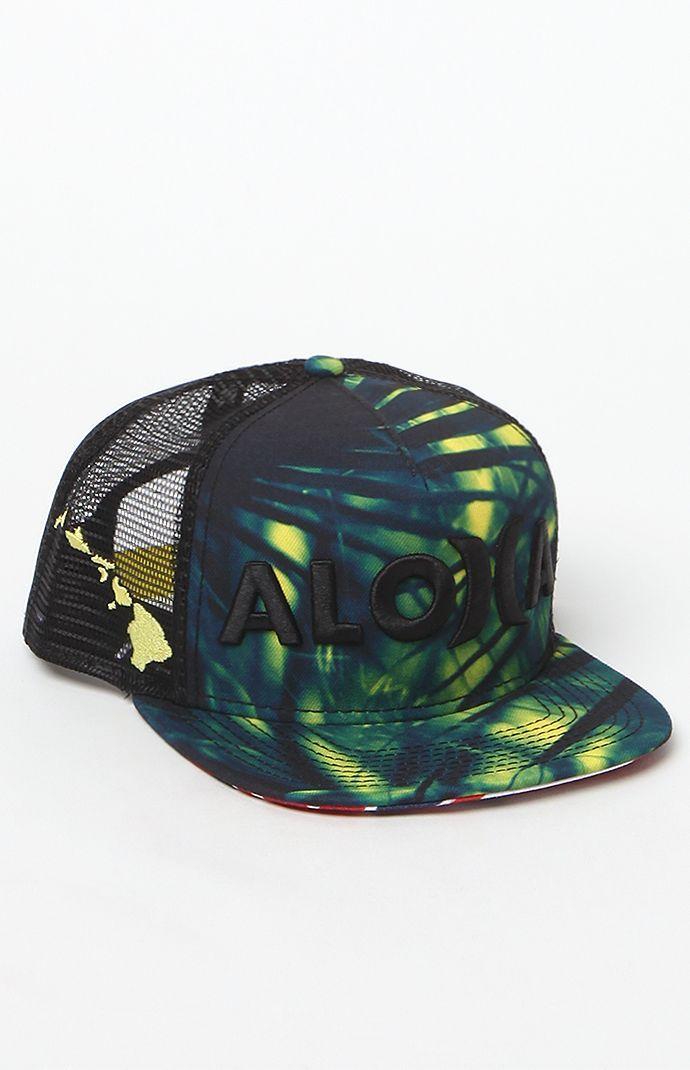 abf952c1c15 best price hurley aloha snapback hat walmart f815a 36b80  sweden jjf ii  aloha snapback trucker hat 963e0 0937c