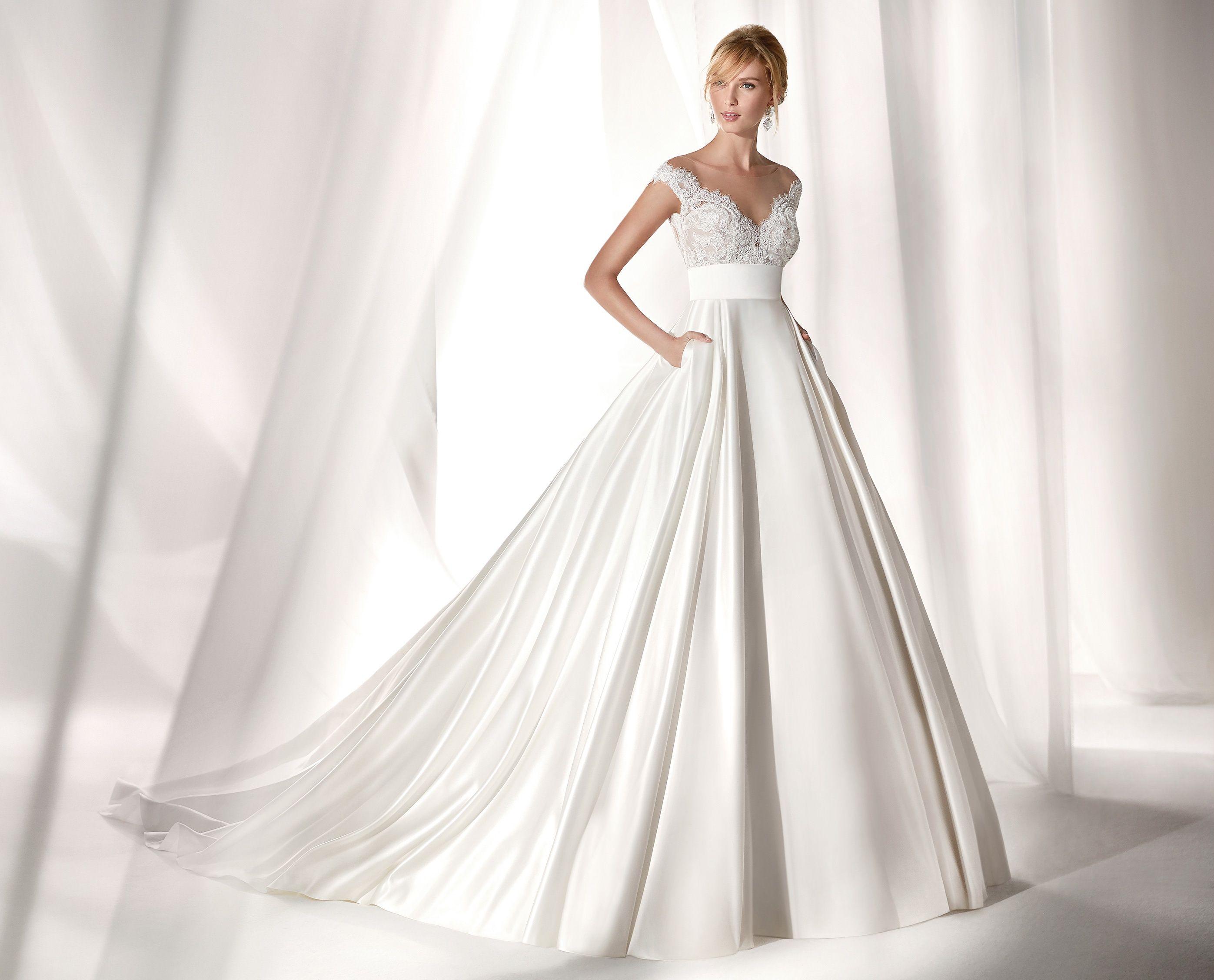 Moda Sposa 2019 Collezione Nicole Niab19036 Abito Da Sposa Nicole Abiti Da Sposa Sposa Abiti