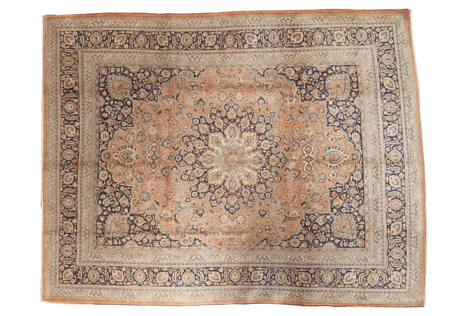10x12 5 Vintage Meshed Carpet Old New House Carpet Vintage
