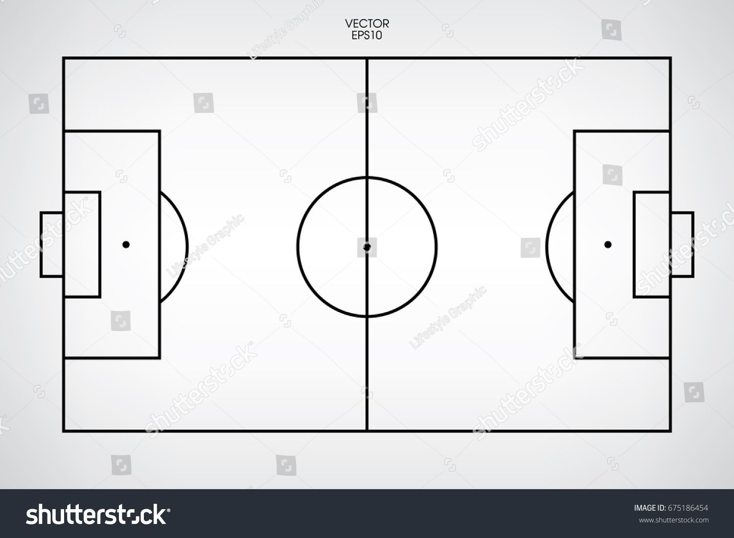 Soccer Field Sports Poster Print Posters Allposters Com Soccer Field Sport Poster Soccer Poster