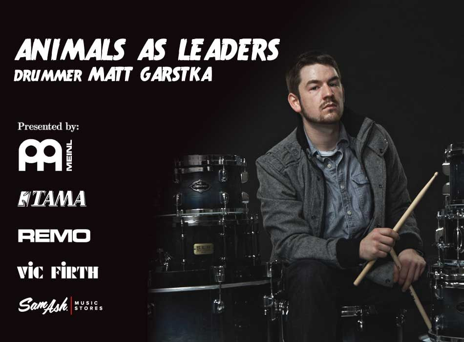 Matt Garstka Drummer For Animals As Leaders Modern Drummer