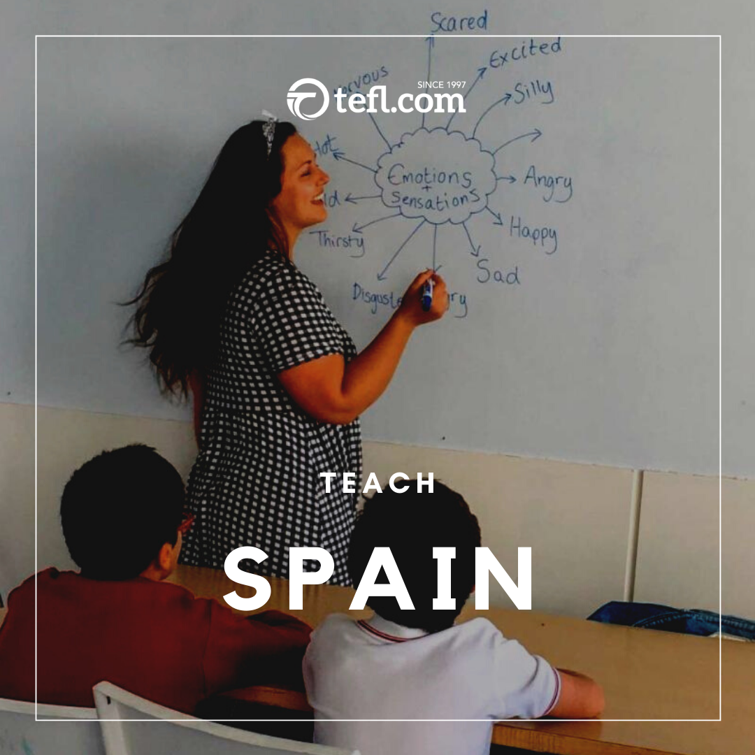 Spain Cities All Over The Country Teach English In Spanish Schools In September 2020 No F