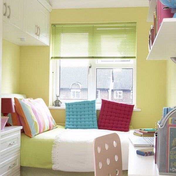 Very Small Bedrooms green-small-bedroom | narrow room - keskeny szoba | pinterest