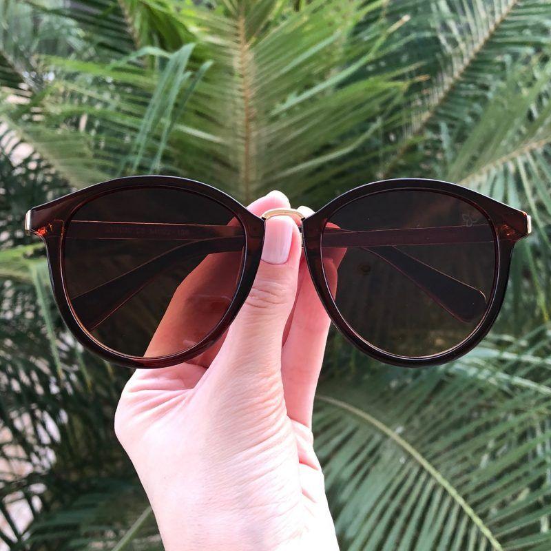 Óculos de Sol Feminino Super Estiloso com Proteção UV 400! E mais   Acompanha um ec4b4ec539
