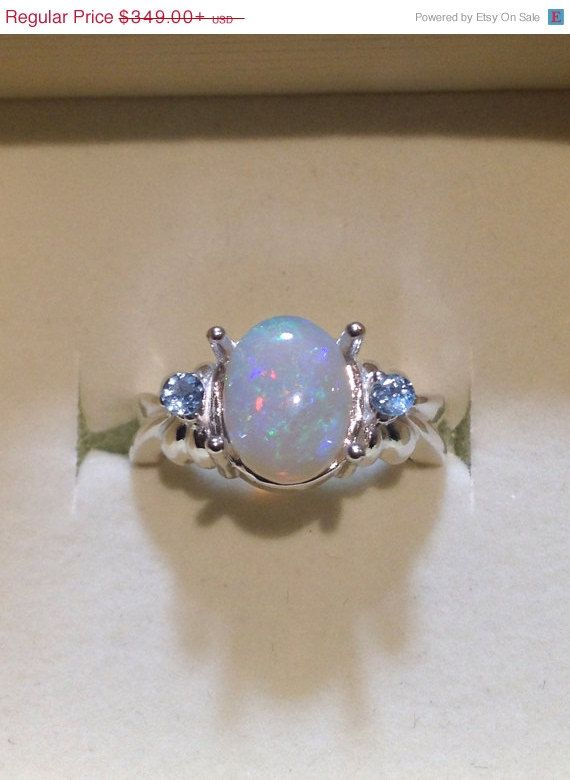 This Item Is Unavailable Australian Opal Ring Opal Sterling Silver Opal Crystal