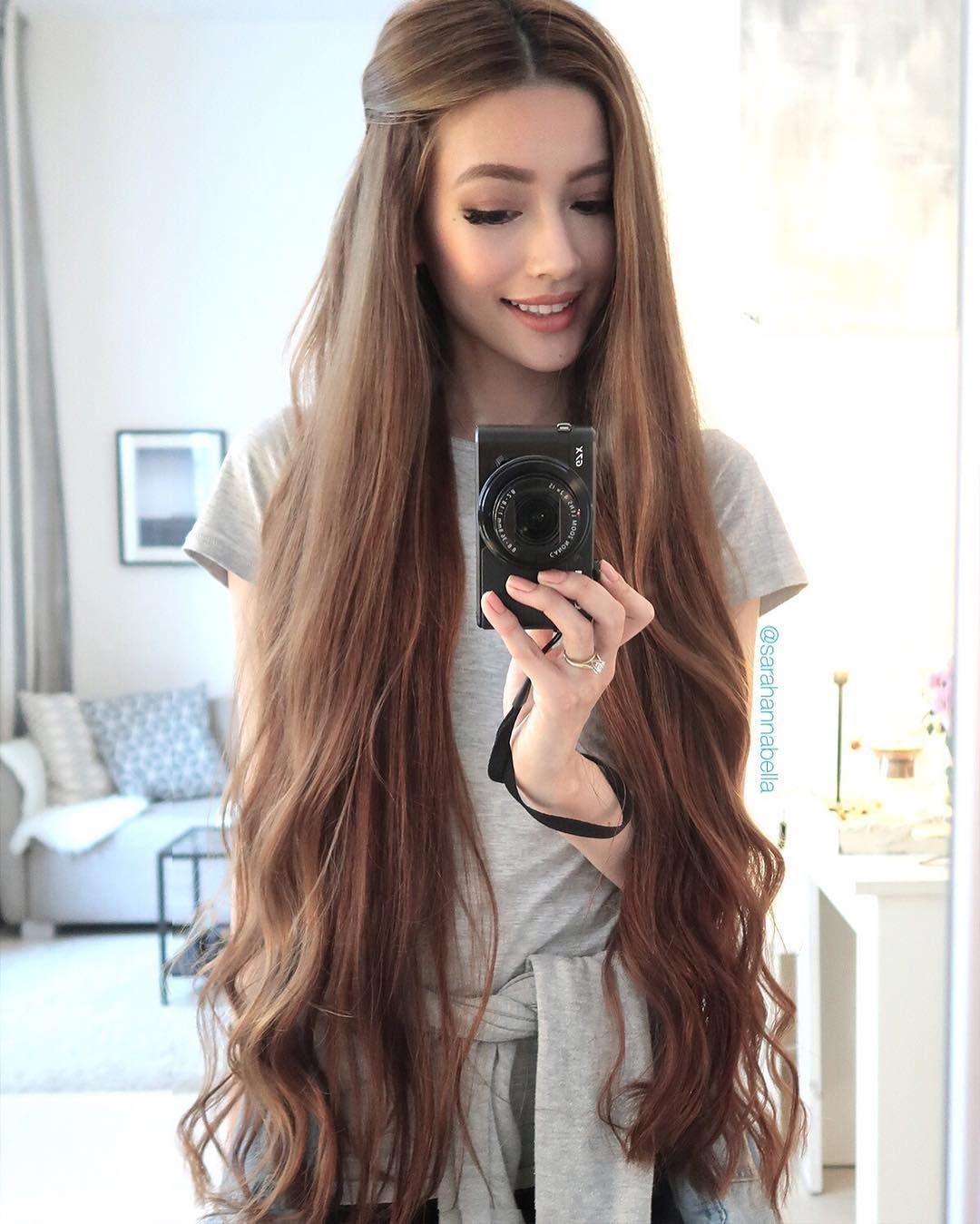 3 435 Likes 31 Comments Sexiest Hair Sexiesthairig Sexiesthair On Instagram Sexiest Everything Long Hair Styles Really Long Hair Long Hair Girl