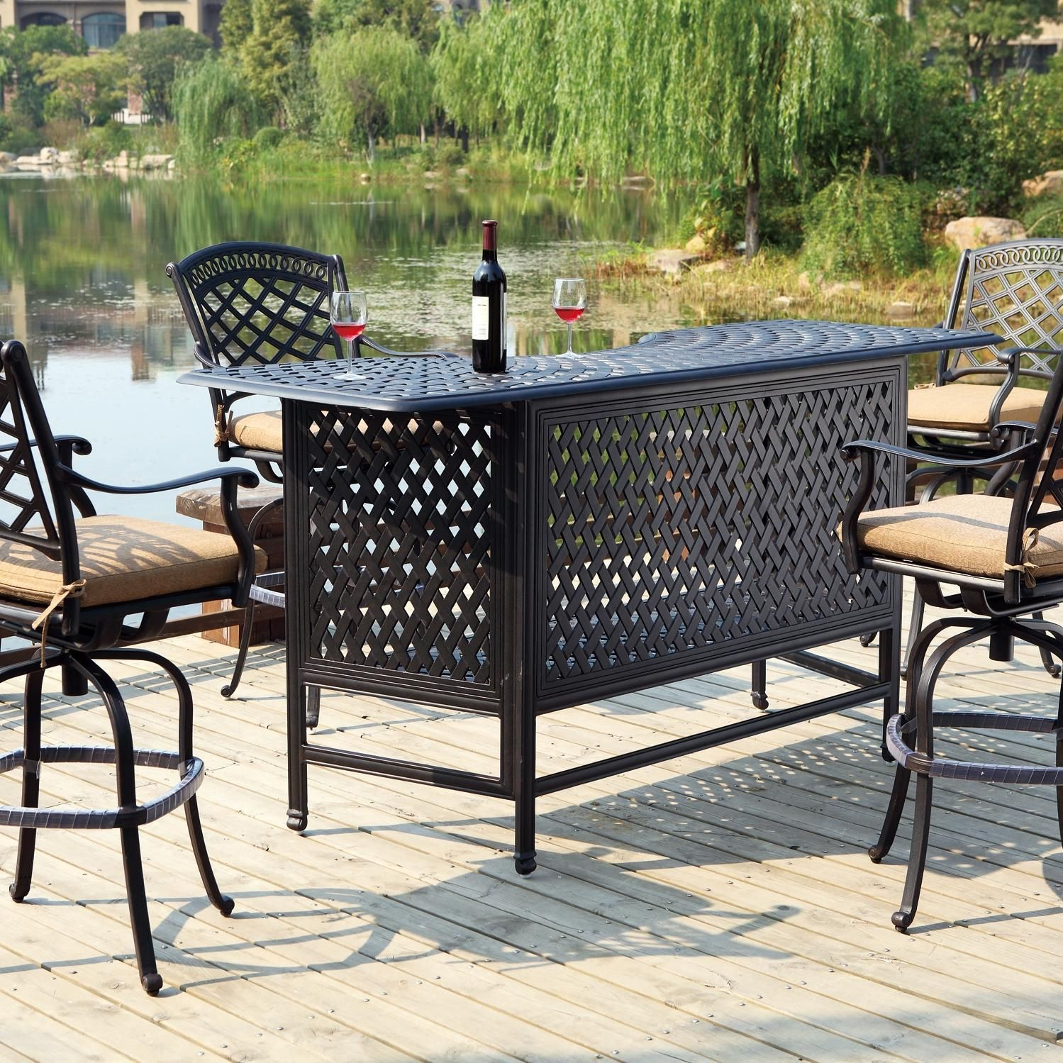 Why An Outdoor Patio Bar Is Exactly What You Need Outdoor Patio