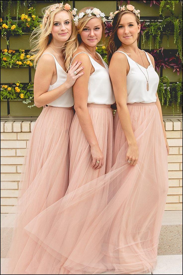Unusual Bridesmaids Dresses