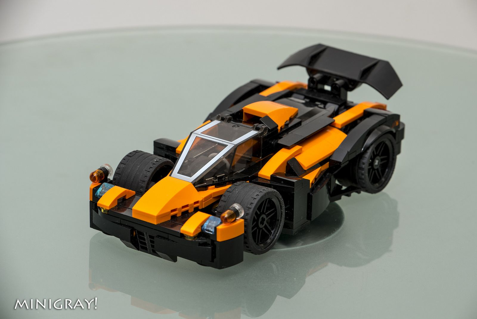 Sci Fi Super Car Ii Micro Lego Lego Sculptures Lego Cars