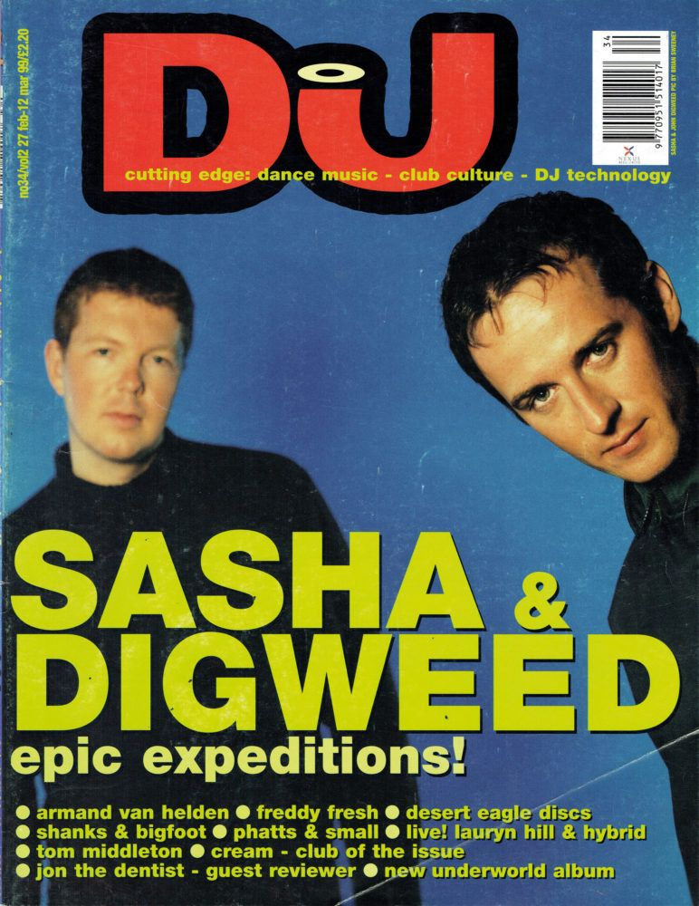 Sasha-JohnDigweed DJ Mag 1999 | club nostalgia in 2019