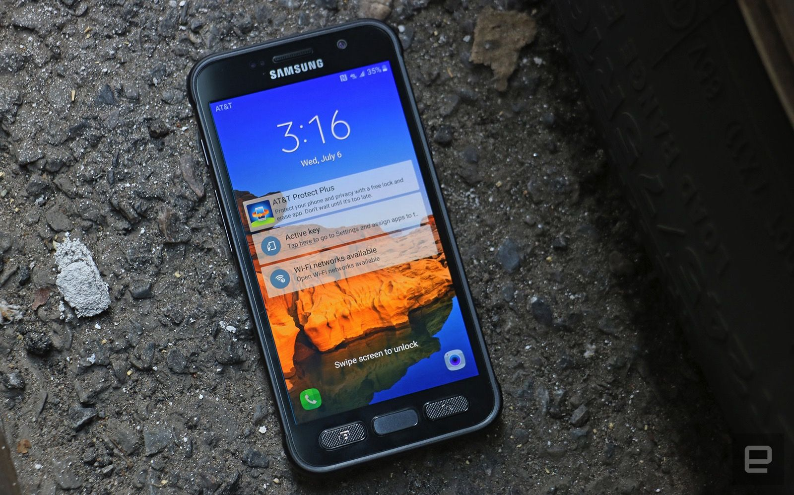 The Galaxy S7 Active is a rugged flagship with a steep